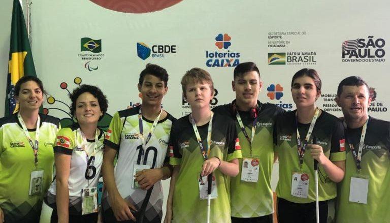 A APJ nas Paralimpíadas Escolares 2019